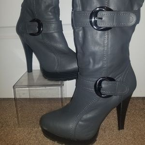 Kyra Stiletto Boots by Just Fab